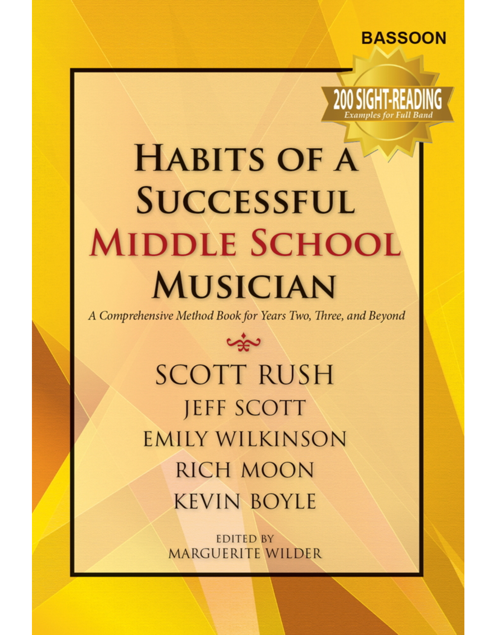 GIA Publications Habits of a Successful Middle School Musician - Bassoon