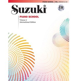 Alfred Suzuki Piano School - Volume 2 with CD