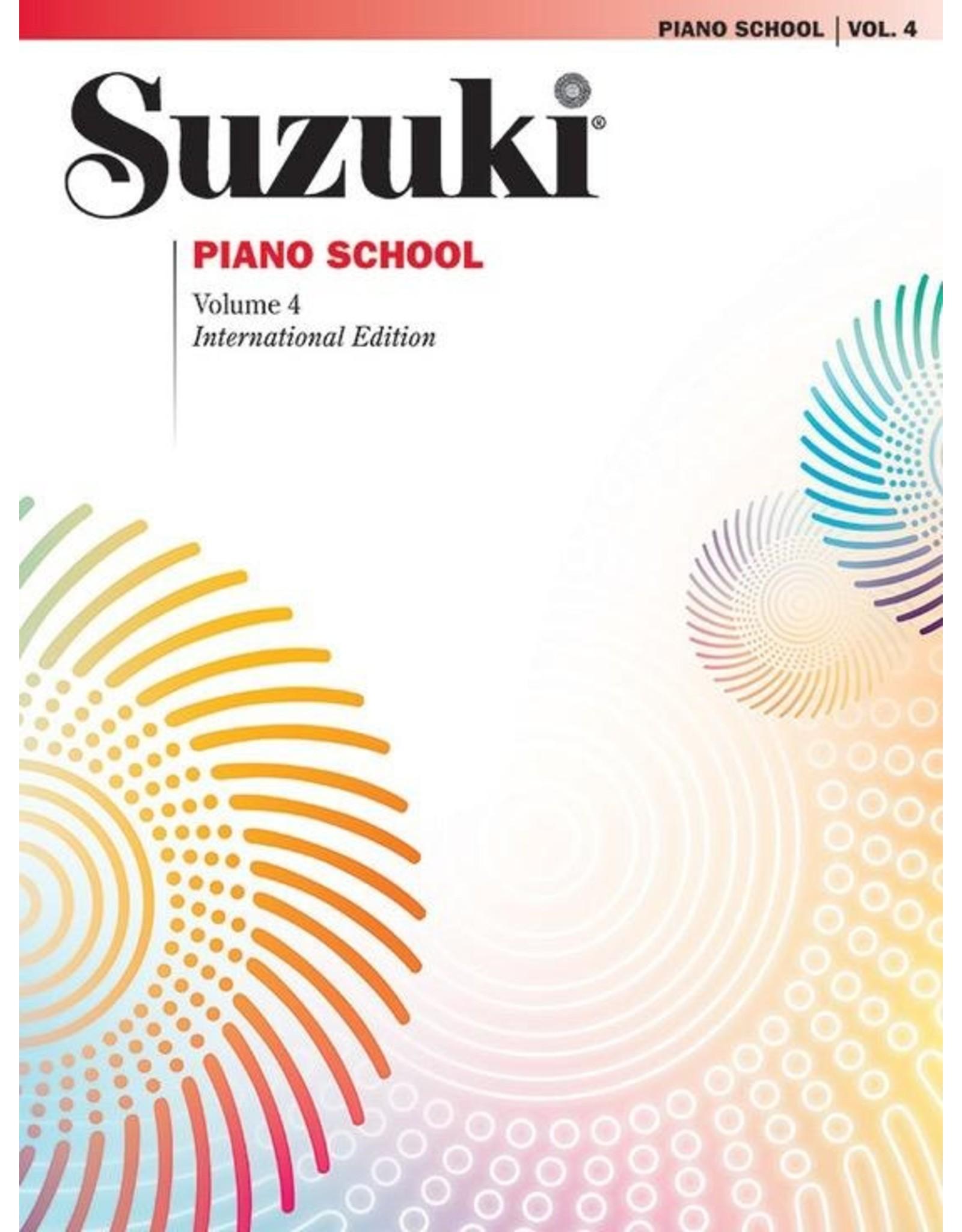 Alfred Suzuki Piano School Volume 4