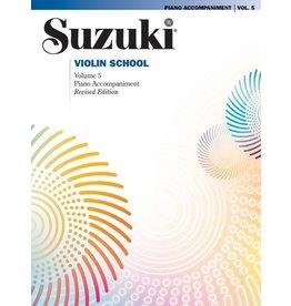 Alfred Suzuki Violin School, Vol. 5 Piano Acc.
