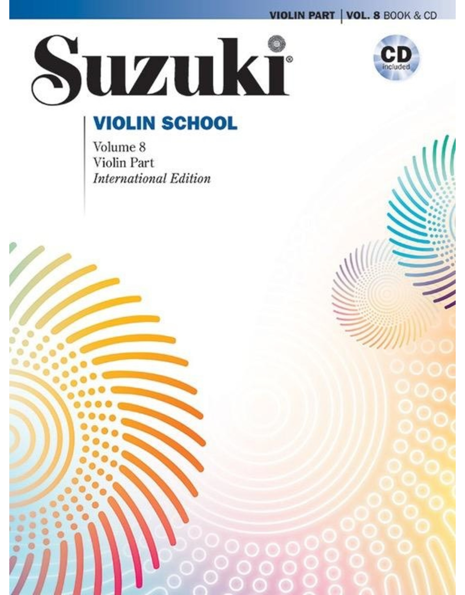 Alfred Suzuki Violin School Volume 8 Revised with CD