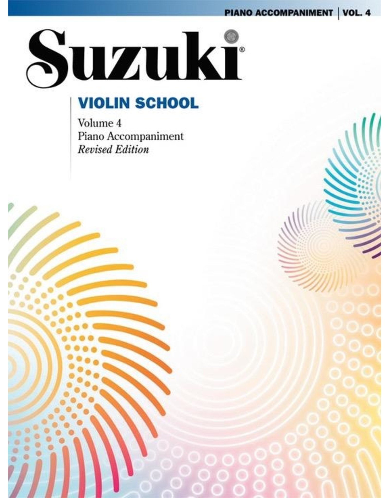 Alfred Suzuki Violin School - Volume 4 - Piano Part