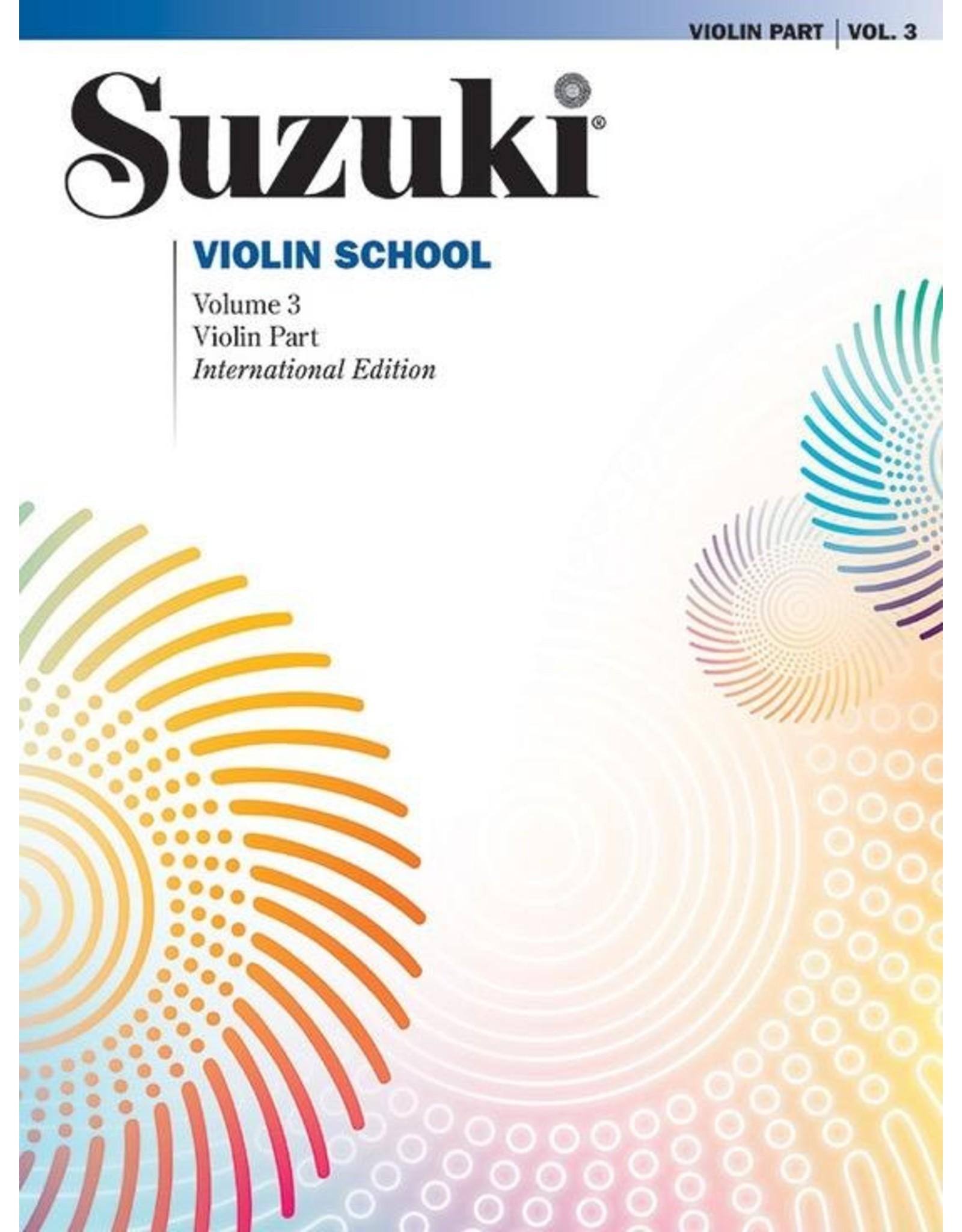 Alfred Suzuki Violin School Volume 3 Violin Part Revised Edition