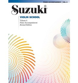 Alfred Suzuki Violin School Piano Acc., Volume 6