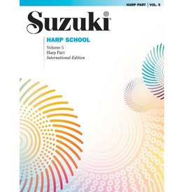 Alfred Suzuki Harp School, Volume 5 Harp Part