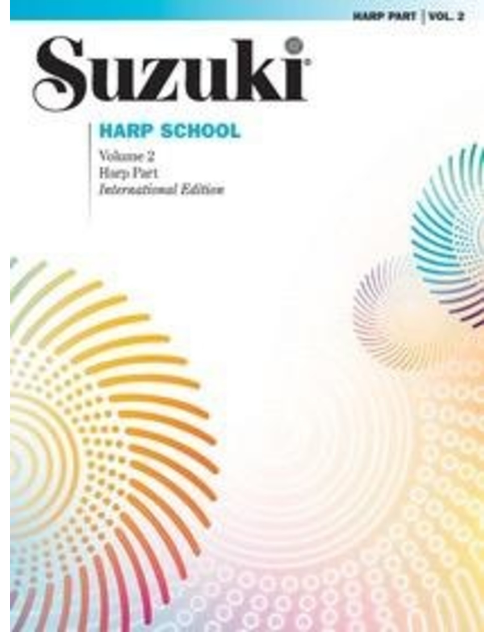 Alfred Suzuki Harp School, Volume 2 Harp Part