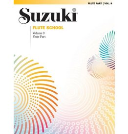 Alfred Suzuki Flute School Flute Part, Volume 9