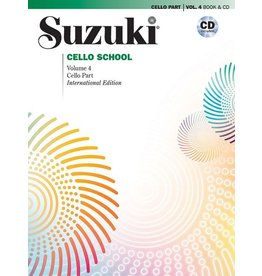 Alfred Suzuki Cello School Volume 4 Revised Book and CD