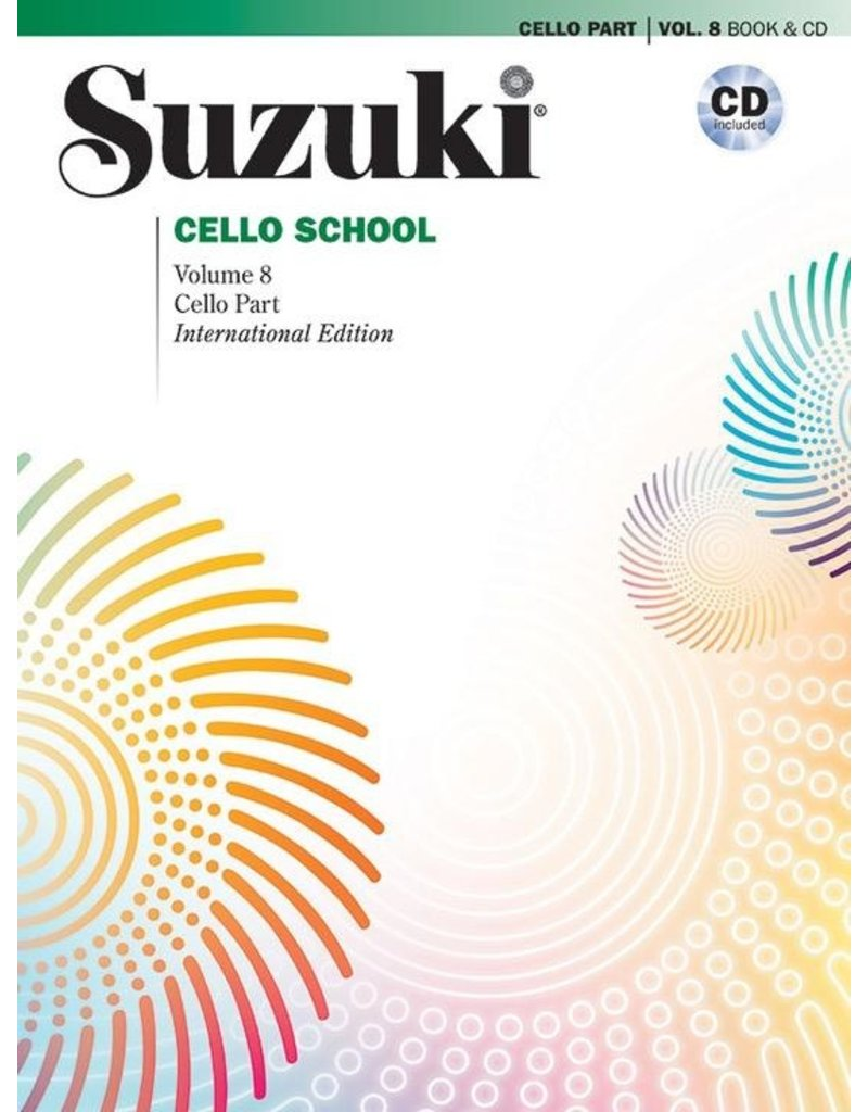 Alfred Suzuki Cello School Volume 8 with CD