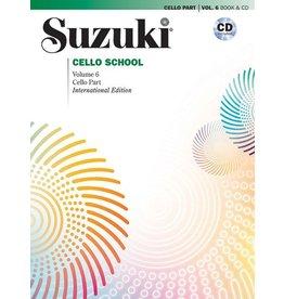 Alfred Suzuki Cello School Volume 6 Book & CD