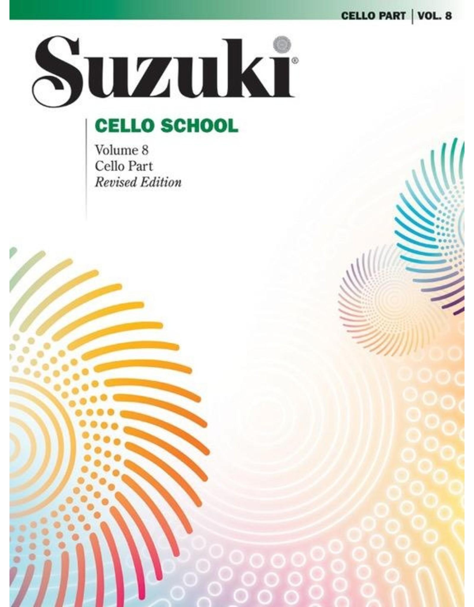 Alfred Suzuki Cello School Volume 8