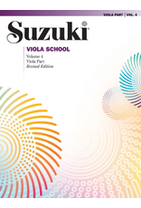 Alfred Suzuki Viola School Volume 4 Viola Part