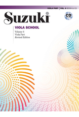 Alfred Suzuki Viola School Volume 6 Book and CD