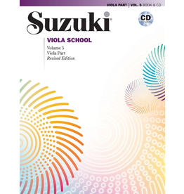 Alfred Suzuki Viola School Volume 5 Book and CD