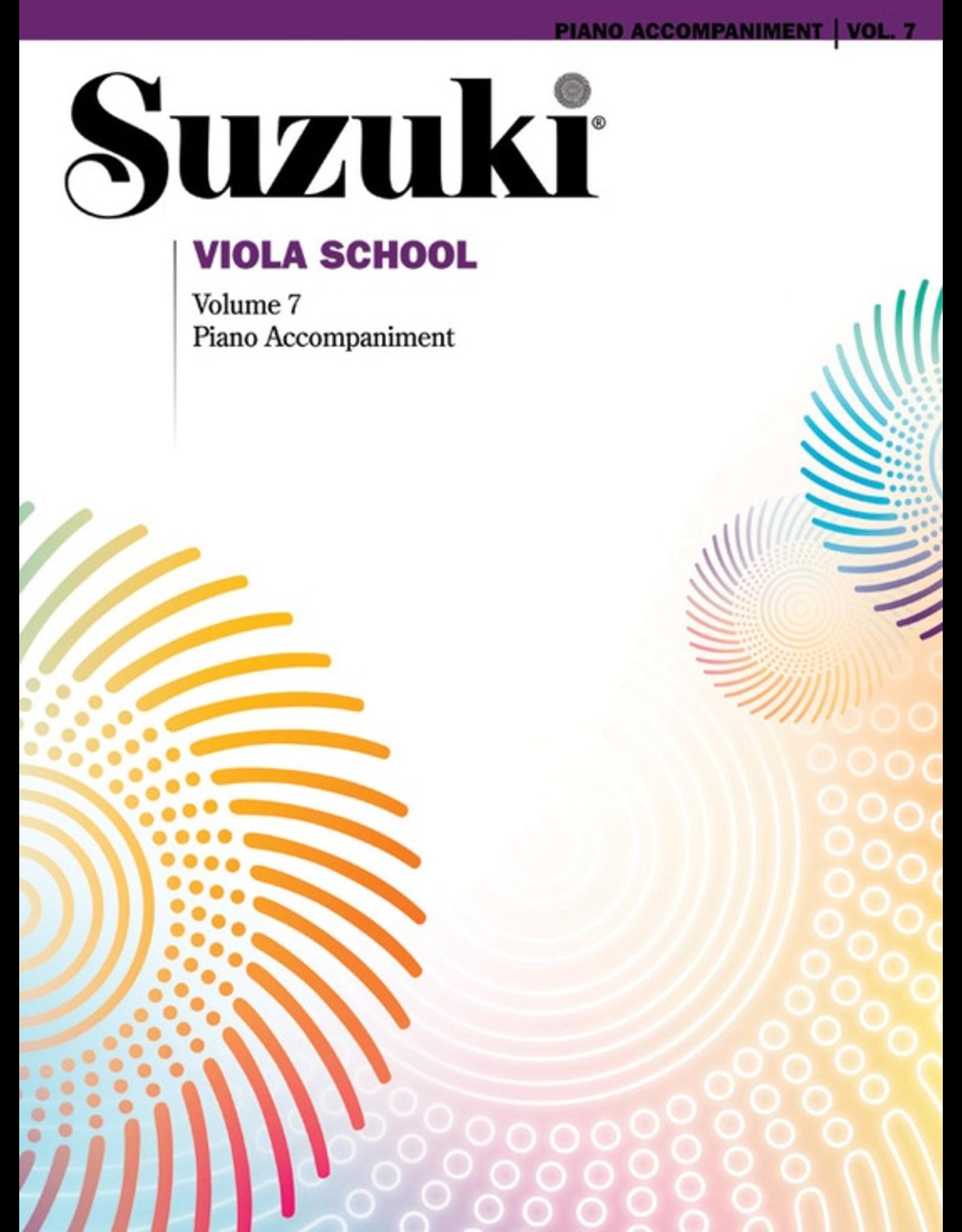 Alfred Suzuki Viola School Piano Accompaniment Volume 7