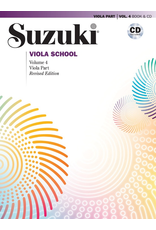 Alfred Suzuki Viola School Volume 4 Book and CD