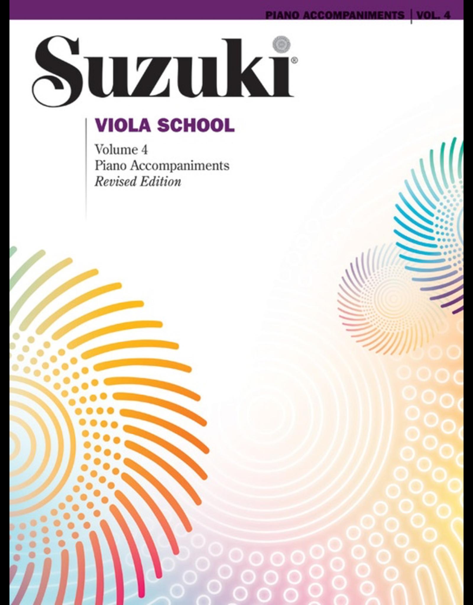 Alfred Suzuki Viola School Volume 4 Piano Accompaniment