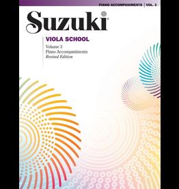 Alfred Suzuki Viola School Piano Acc Volume 3