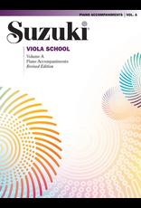 Alfred Suzuki Viola School Volume A Piano Accompaniment