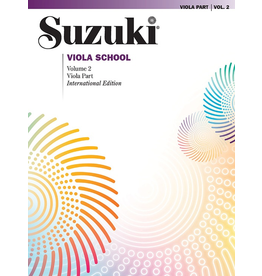 Alfred Suzuki Viola School Viola Volume 2 Revised Edition.