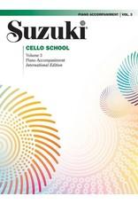 Alfred Suzuki Cello School, Volume 3 Piano Acc.