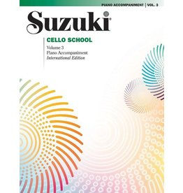 Alfred Suzuki Cello School, Volume 3 Piano Acc.