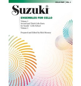 Alfred Suzuki Ensembles for Cello, Volume 1