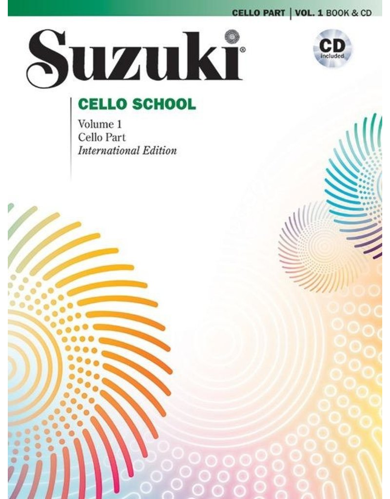 Alfred Suzuki Cello School, Volume 1, Cello Part with CD