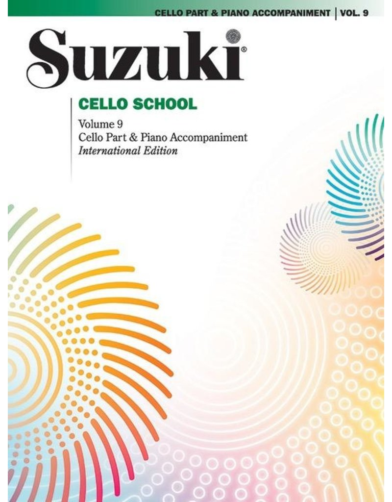 Alfred Suzuki Cello School Volume 9 with Piano Accompaniment