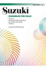 Alfred Suzuki Ensembles for Cello, Volume 3