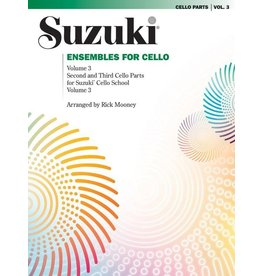 Alfred Suzuki Ensembles for Cello, Volume 3