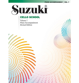 Alfred Suzuki Cello School, Volume 7 Piano Accompaniment