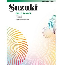 Alfred Suzuki Cello School Volume 4 Revised Edition