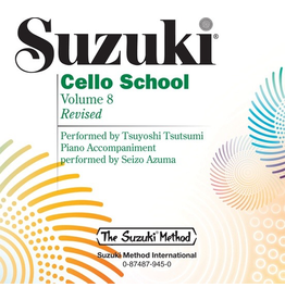 Alfred Suzuki Cello School, Volume 8 CD