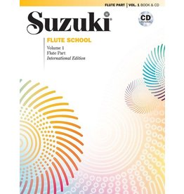 Alfred Suzuki Flute School (Flute Part) Book 1 with CD