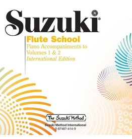Alfred Suzuki Flute School CD, Volume 1 & 2 Piano Acc.
