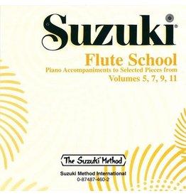 Alfred Suzuki Flute School CD, Volume 5, 7, 9 & 11 Piano Acc.