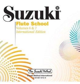 Alfred Suzuki Flute School CD, Volume 6 & 7