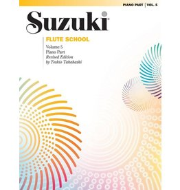 Alfred Suzuki Flute School Piano Accomp Volume 5
