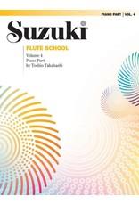 Alfred Suzuki Flute School Piano Accompaniment Volume 4