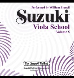 Alfred Suzuki Viola School CD, Volume 5