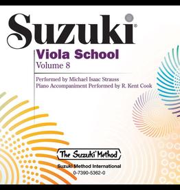 Alfred Suzuki Viola School CD, Volume 8