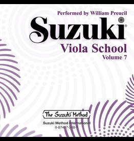 Alfred Suzuki Viola School CD, Volume 7