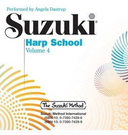 Alfred Suzuki Harp School Volume 4 CD