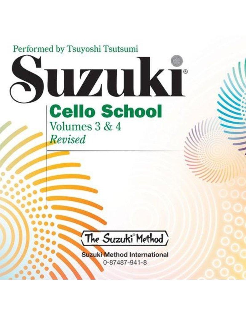 Alfred Suzuki Cello School, Volumes 3&4 CD