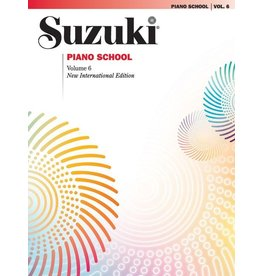 Alfred Suzuki Piano School Piano Book, Volume 6