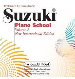 Alfred Suzuki Piano School CD, Volume 3