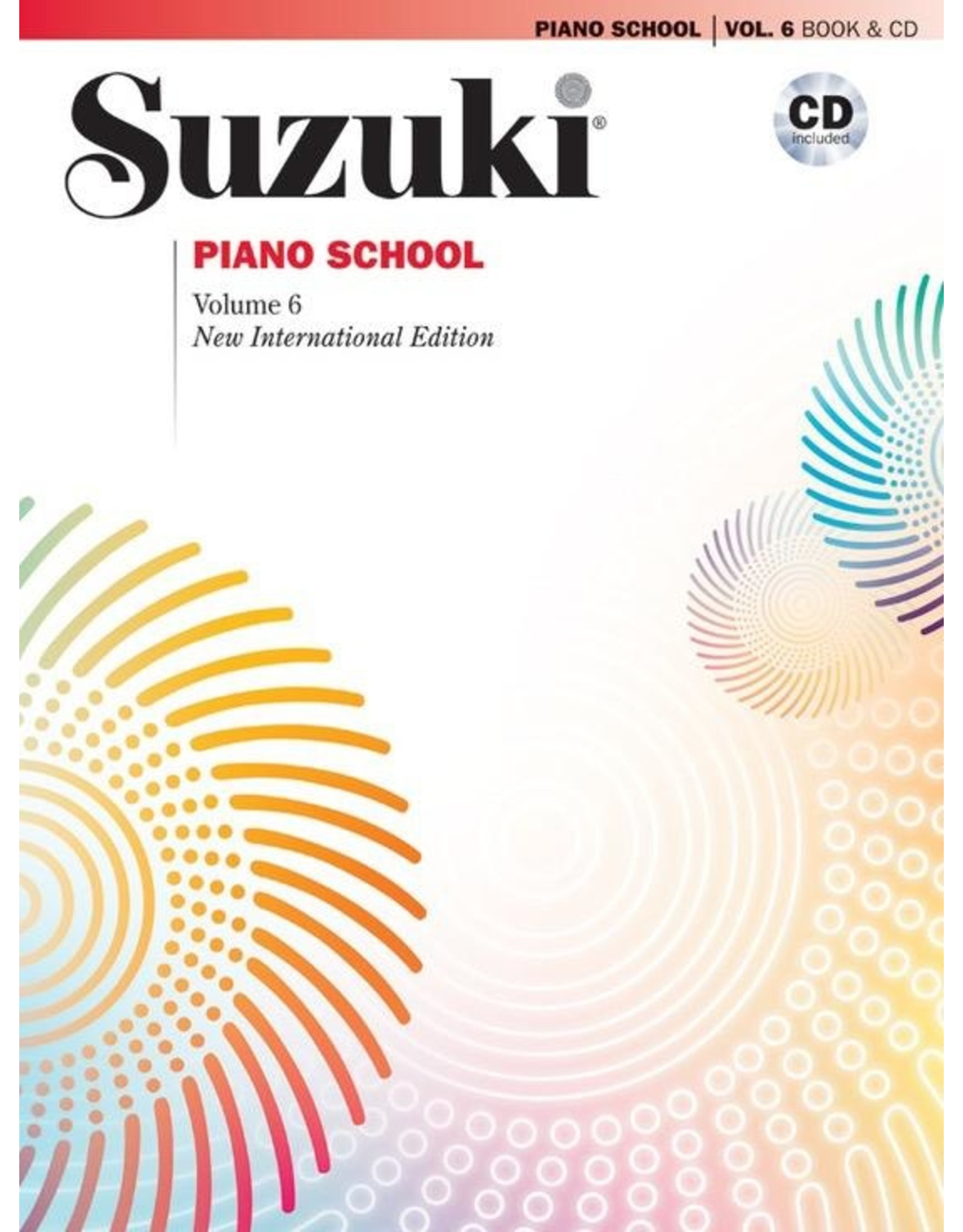 Alfred Suzuki Piano School Volume 6 with CD