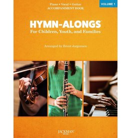 Jackman Music Hymn-Alongs Vol. 1 - arr. Brent Jorgensen - Piano Accompaniment Book