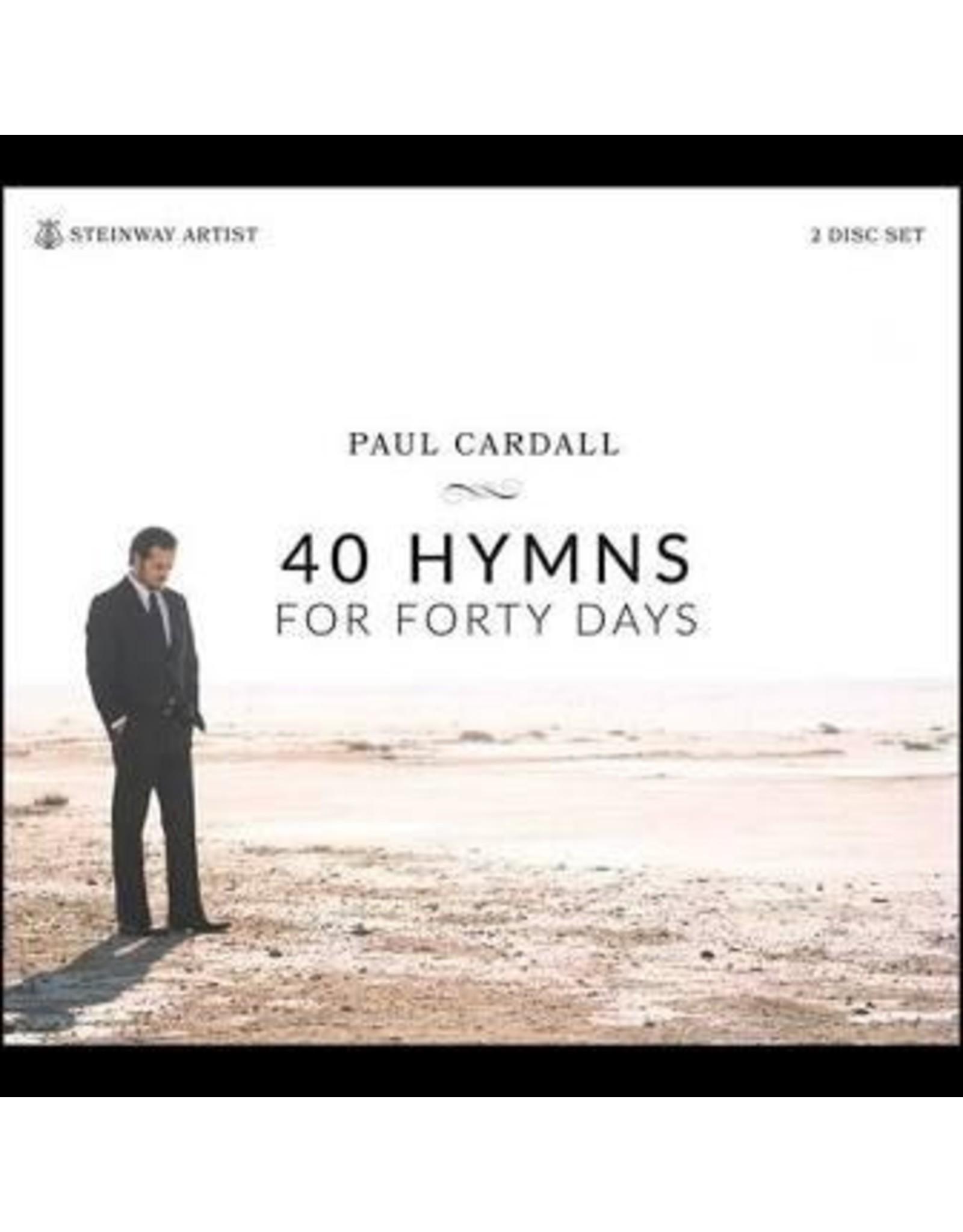 Soundburst Audio 40 Hymns For 40 Days by Paul Cardall CD